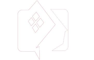 Redhouse Lab logo bianco
