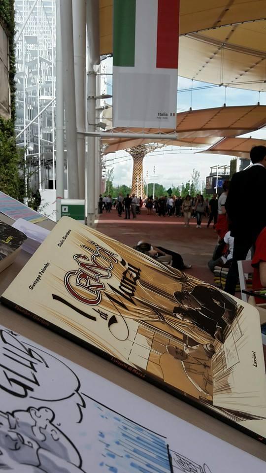 """Presentazione dell'albo """"I Cruschi di Manzù"""" al EXPO Milano 2015"""