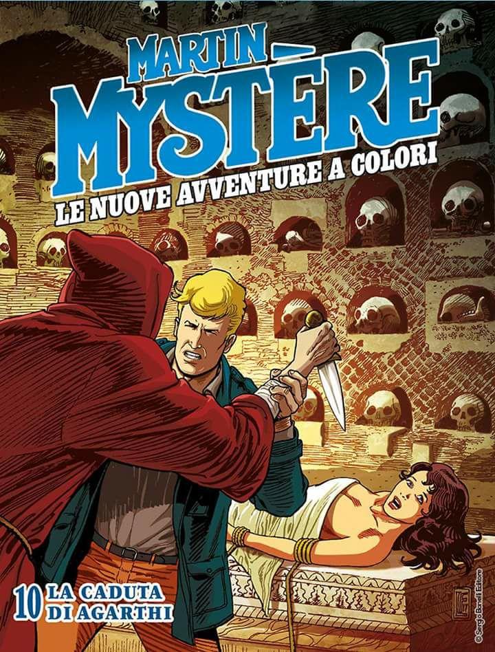 Martin Mystere per Sergio Bonelli Editore
