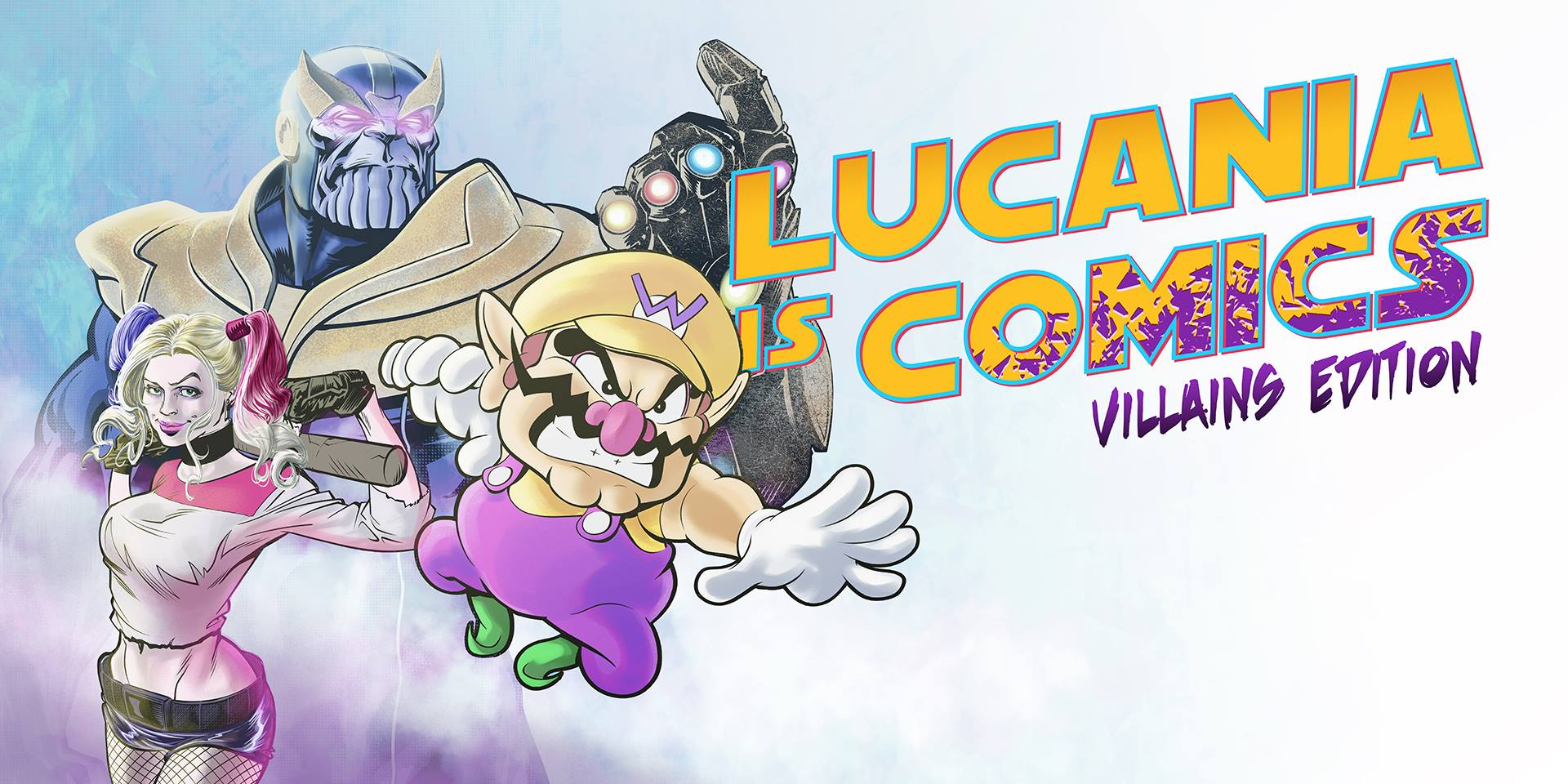 Locandina Lucania is Comics 2018