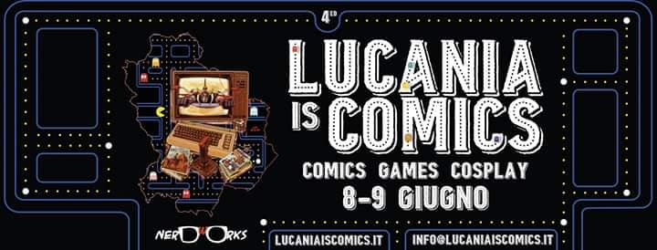 Locandina Lucania is Comics 2019