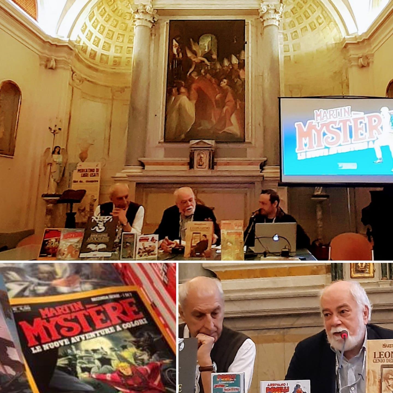 Presentazione Martin Mystere Le nuove avventure a colori - Lucca